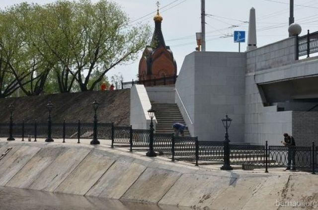 Набережная Барнаулки создана в рамках развития туркластера