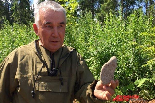 Рыбак Раим Маргиев первым обнаружил останки древнего животного.