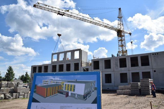 Новая школа в Ледмозеро