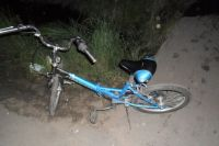 В Тюмени иномарка сбила семилетнего мальчика-велосипедиста