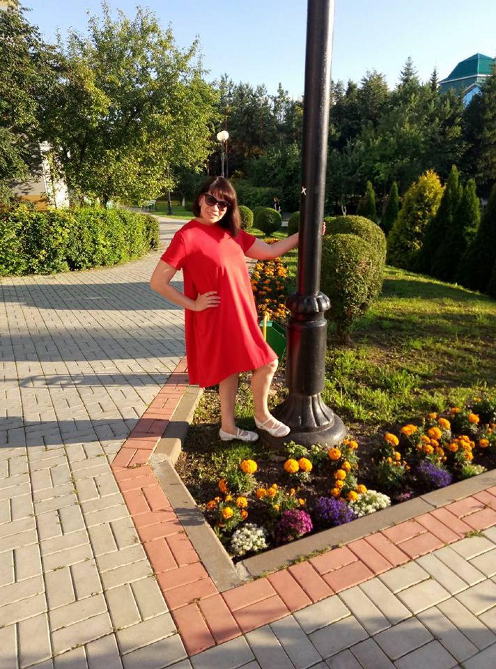 Марина Зубкова на отдыхе в одном из санаториев Татарстана
