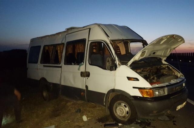 НаКубани вкрупном ДТП пострадали 8 человек