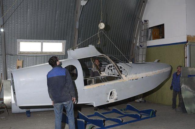 Улучшенную модель самолета выпустили в Тюмени