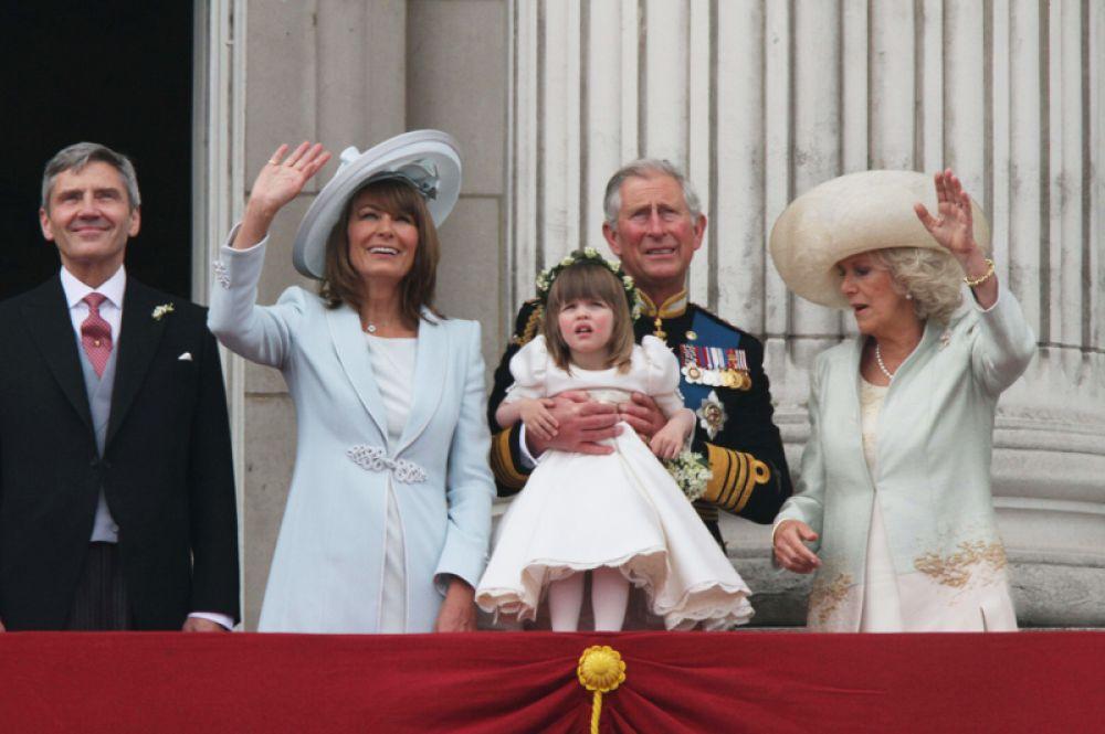 2011 год. На свадьбе принца Уильяма и Кейт Миддлтон в Лондоне.