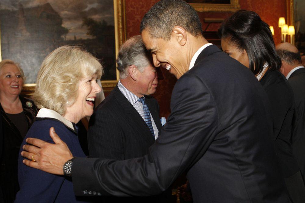 2009 год. Прием для лидеров G20 в Букингемском дворце в Лондоне.
