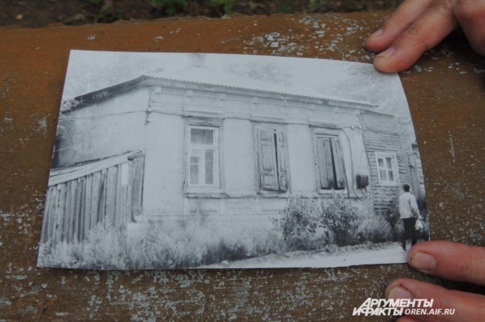 Постепенно дом терял разные архитектурные элементы.  Вторая половина ХХ века.