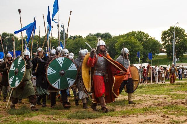 Русичи против викингов. Как в Москве прошла «Битва тысячи мечей»