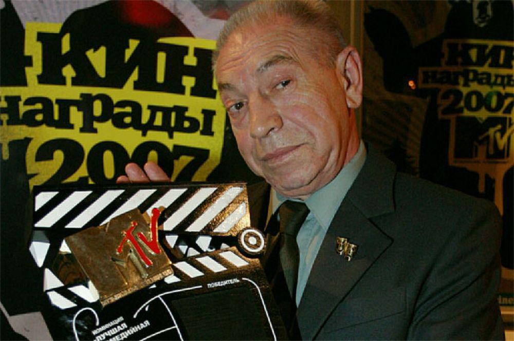 Кинонаграда MTV в номинации «Лучшая комедийная роль» («Хоттабыч», реж. Пётр Точилин)