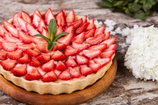 Пирог «Клубника со сливками»