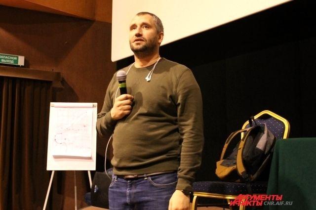 С тюменскими кинематографистами встретится Юрий Быков
