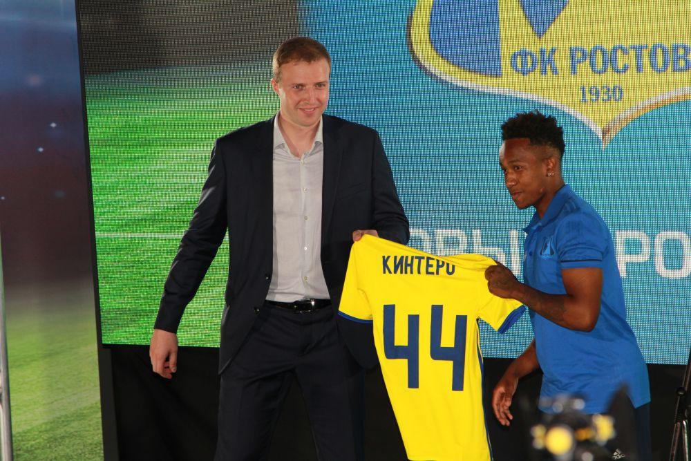 Молодой эквадорский полузащитник Жосимар Кинтеро поделился с болельщиками тем, что очень хочет играть в основном составе и приложит для этого все усилия.