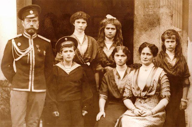 Император Николай II и его семья.