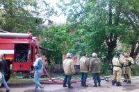 Под Тюменью в СНТ «Надежда» сгорел дачный домик