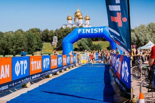 Ярославль принял этап Кубка Российской Федерации потриатлону