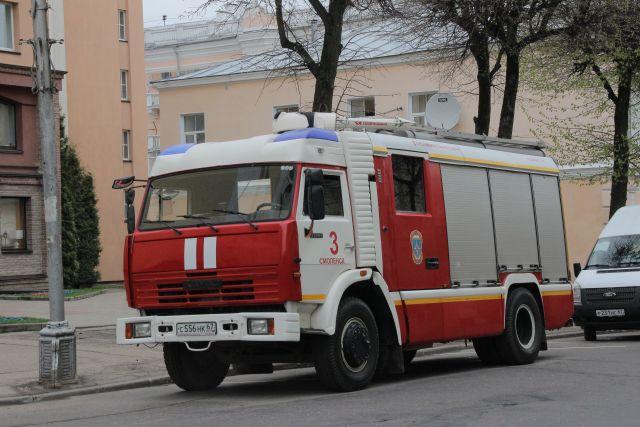 В Оренбурге ночью загорелся автомобиль на улице Салмышской.