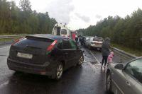 ДТП на трассе «Тюмень-Ханты-Мансийск»: пострадали четыре человека