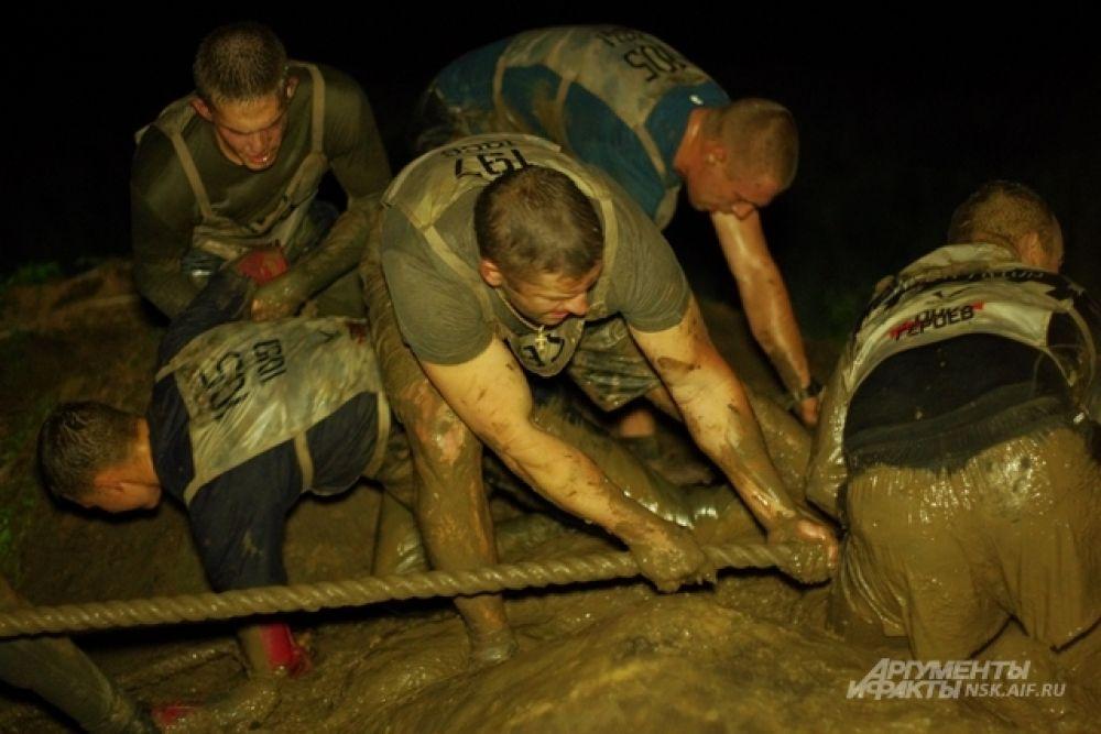 Новосибирск стал первым городом, где любители экстремальной игры испытали свои силы ночью.