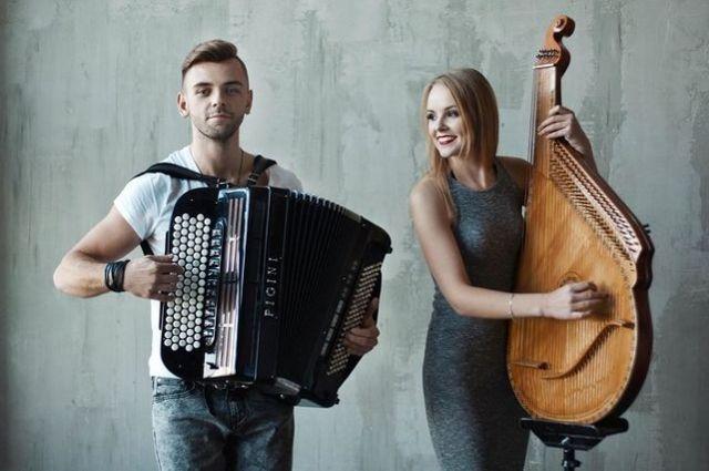 Татьяна Мазур и Сергей Шамрай
