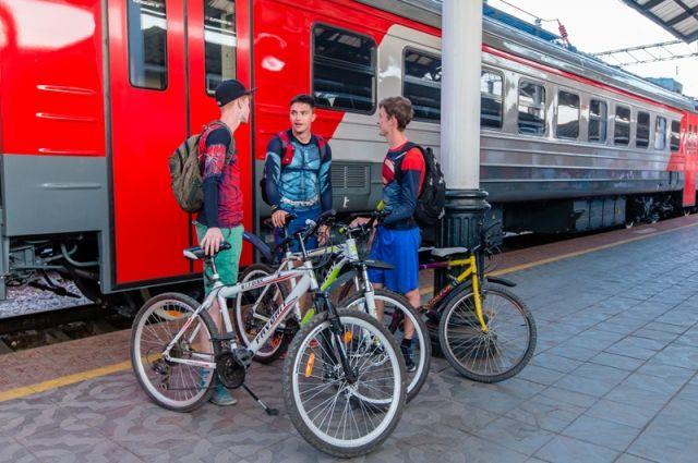 Теперь с пассажиров не будут брать плату за провоз велосипедов.