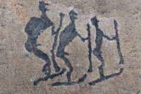 В Карелии находится самое древнее в Европе изображение человека на лыжах.