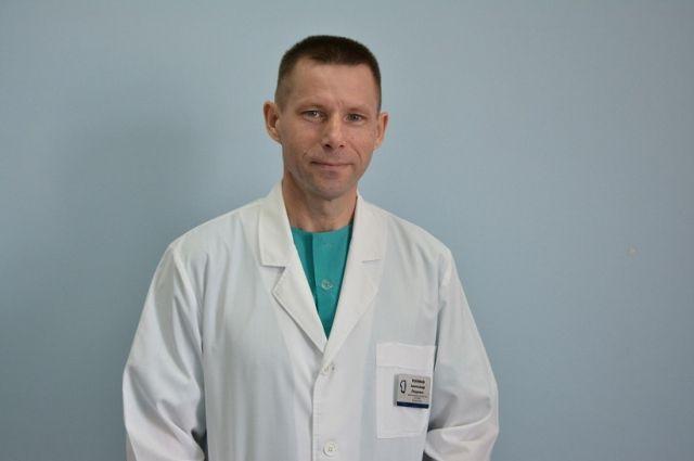 Александр Поляков - заведующий ожоговым отделением