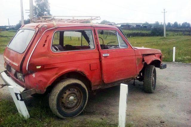 Водитель проигнорировал запрещающий сигнал светофора.