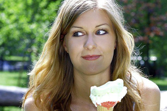 Украинская девушка дает жар