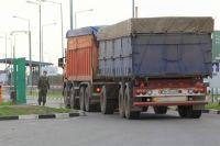 Пограничники тщательно проверяют провозимые в Омскую область грузы.