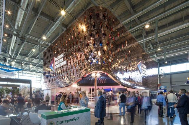 «Медный дом РМК» на «Иннопроме» был, пожалуй, одной из самых масштабных и инновационных экспозиций выставки.