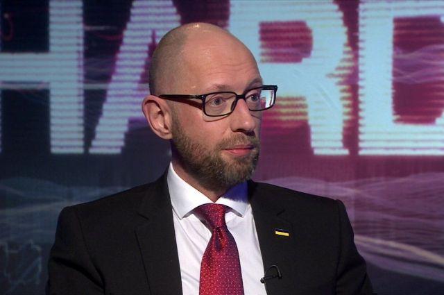 Яценюк назвал дату когда Украина будет членомЕС