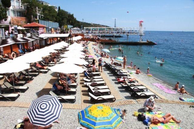 Массанровский пляж в Крыму.