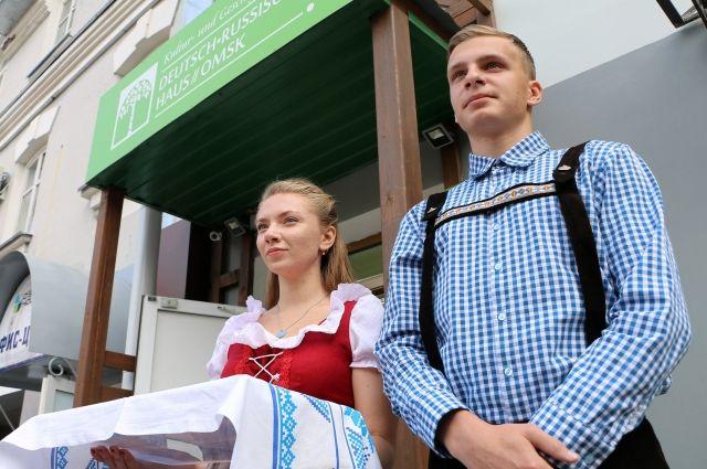 Немцы прибыли в Омск сегодня, 18 июля.