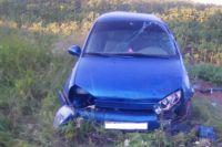 На трассе «Оренбург-Казань в ДТП пострадали два ребенка.