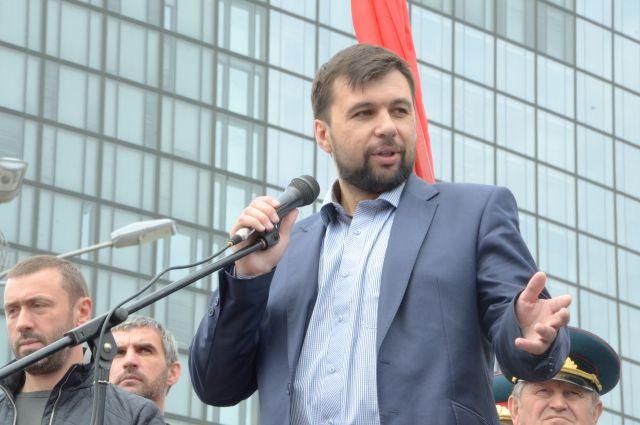 Пушилин заявил, что государство Малороссия пока является лишь идеей