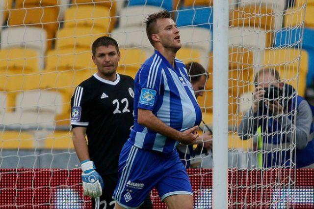 Андрей Ярмоленко забил победный гол
