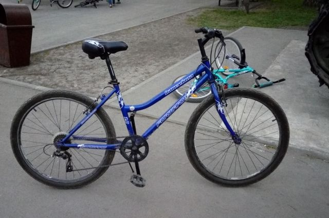 Полицейские из Муравленко ищут велосипед