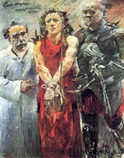 Ловис Коринт «Ecce homo», 1925 год.