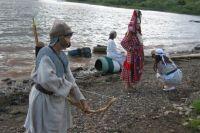 В урочище Голюшурма сейчас устраиваются костюмированные экскурсии.