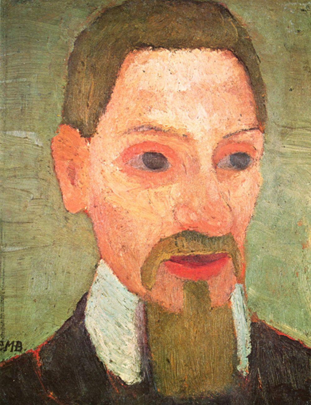 Паула Модерзон-Беккер «Портрет Райнера Мария Рильке», 1906 год.