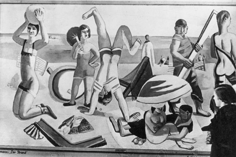 Макс Бекман, «Пляж».