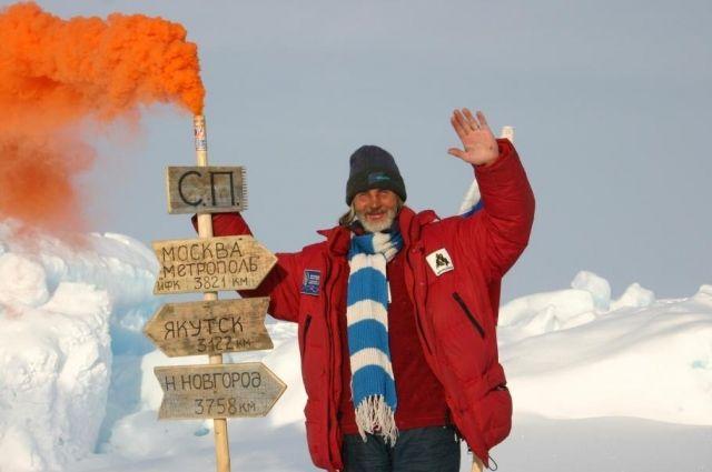 Валентин Ефремов с коллегами попал  в Книгу рекордов Гиннесса после перелёта на воздушном шаре к Северному полюсу.