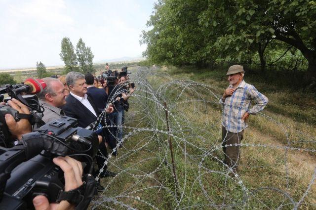Порошенко поддержал Грузию на границе с Южной Осетией