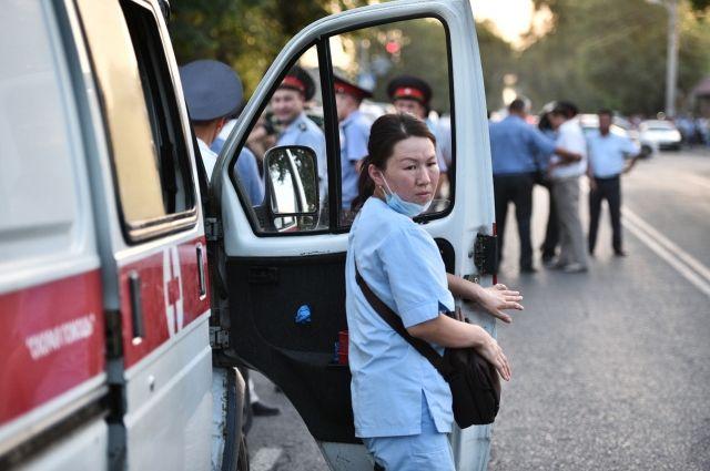 Восемь человек скончались при горном ДТП вКиргизии