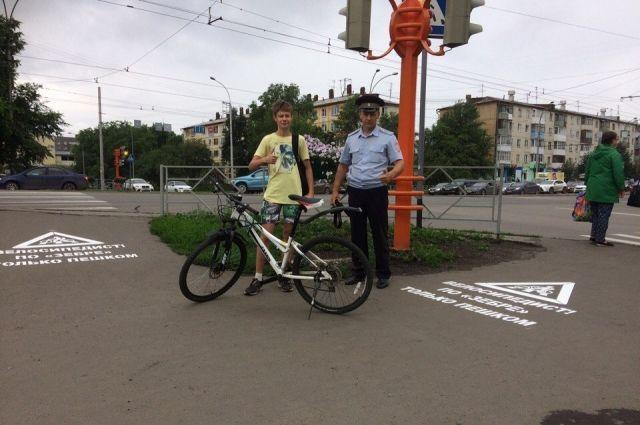 В областной столице стартовала акция «Юный водитель».