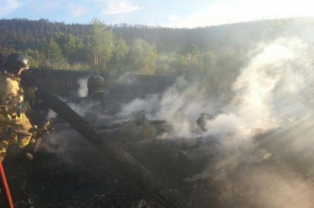 Тело девочки было обнаружено в ходе тушения пожара.