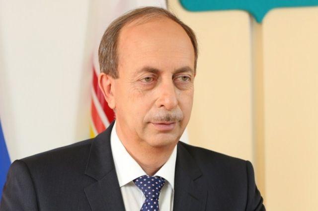 Губернатор Еврейской автономной области Александр Борисович Левинталь.