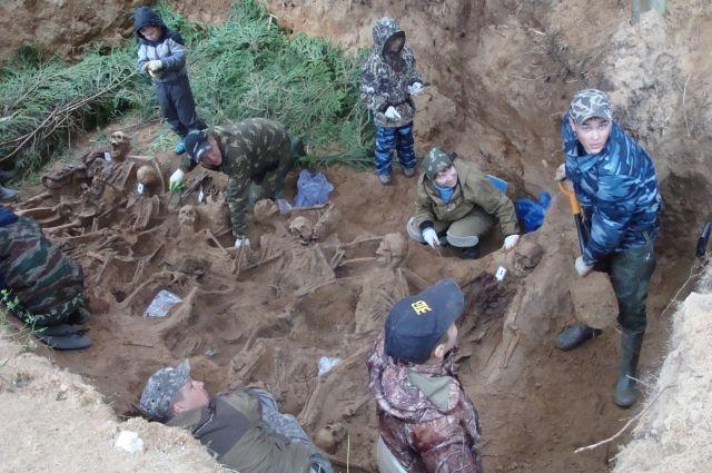 Были найдены останки 18 бойцов.