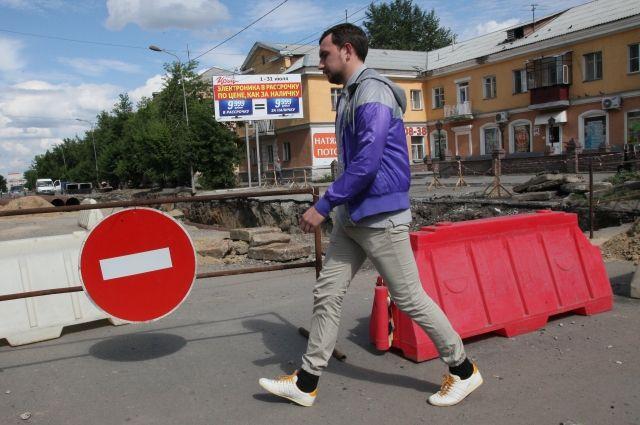 Движение вцентре Петербурга ограничат съемки фильма «Окрыленные»
