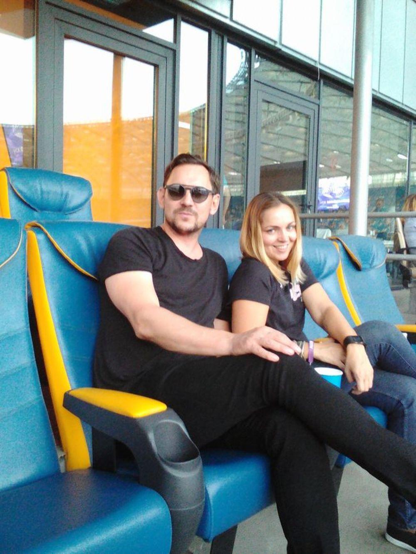 Валерий Харчишин с женой