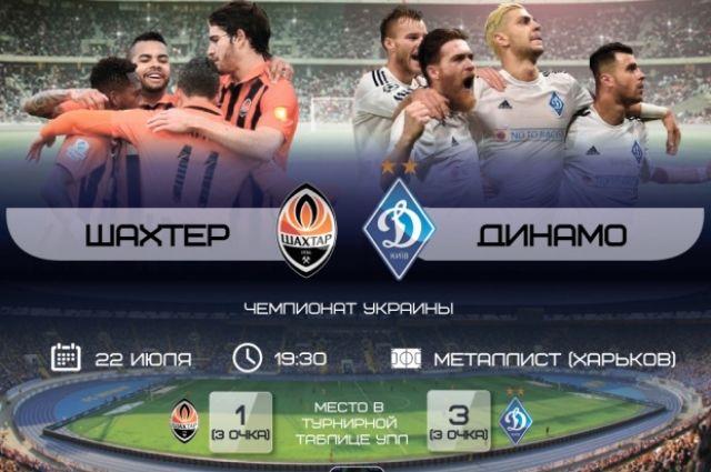 Прогноз и ставки на матч «Шахтер» - «Динамо»